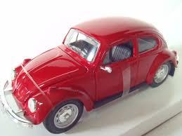 volkswagen red car maisto 1 24 volkswagen beetle special edition diecast metal ebay