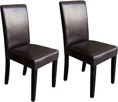 dining chairs the brick brown 2 piece accent dining chair set
