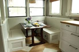 Dining Table Corner Booth Dining Corner Table With Storage White Stained Wood Corner Nook Table