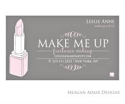 makeup artists business cards designs business cards for makeup artist also makeup artistry