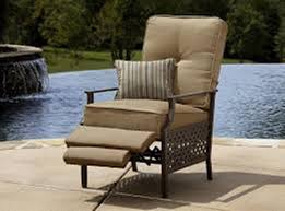 Reclining Patio Chairs by Aluminum Reclining Lawn Chairs With Cushions Aluminum Reclining