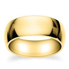 plain wedding rings 14k yellow gold plain wedding ring 9mm gr63g9yg groom s ring