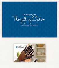 gift card business cutco gift cards