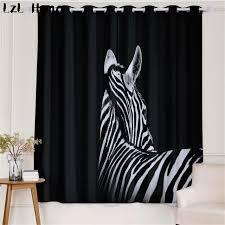chambre zebre et lzl maison modèle 3d fenêtre rideau zèbre et cerfs avec