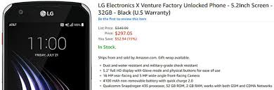 amazon unlocked phones black friday lg x venture now available to buy unlocked in the us works on all