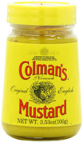 colman mustard colman s mustard 5 3 ounce pack of 6 yellow