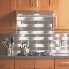 backsplash fresh stainless steel backsplash panels decorate