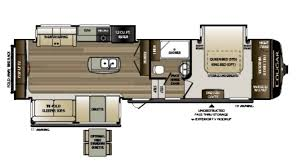 Cougar 5th Wheel Floor Plans 2018 Keystone Cougar 311res Model