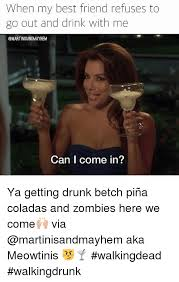 when my best friend refuses to go out and drink with me