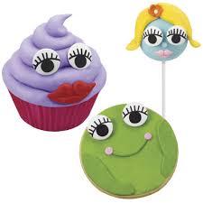 Edible Eyes Cake Decorating Wilton Edible Candy Eyeballs W Eyelashes Cake Cookie Cupcake