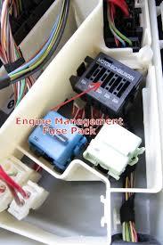bmw engine electronics fuse pack u2013 in underhood e box e46 e39