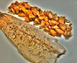 truite cuisine truite aux pêches recette de truite aux pêches marmiton