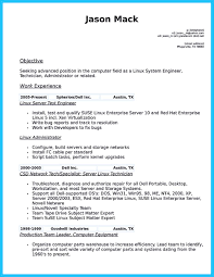 Resume Job In Linux by How To Make Cable Technician Resume That Is Really Perfect