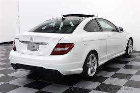 used amg mercedes 2013 used mercedes certified c250 amg sport coupe navigation