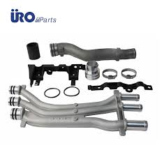 Porsche Cayenne Coolant Pipes - cayenne coolant pipe update kit uro thermostat u0026 related 948