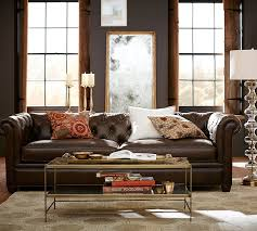 Chesterfield Tufted Leather Sofa Sofa Lovely Pottery Barn Tufted Leather Sofa Chesterfield