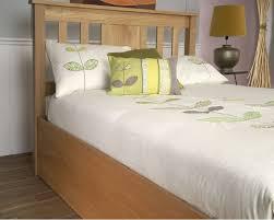 Oak Ottoman Bed 6ft American Oak Ottoman Bed Frame