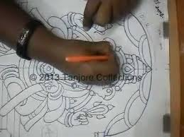 how to make tanjore painting muck board youtube
