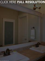 frames for bathroom mirrors diy best bathroom decoration