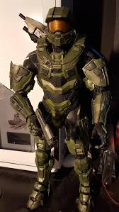 Halloween Costume Halo 3ders Org Maker Creates Amazing Size 3d Printed Master