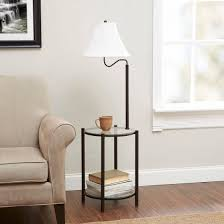 End Table L Combo Mainstays Transitional Glass End Table L Matte Black Walmart