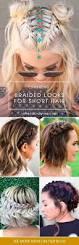 best 25 braided short hair ideas on pinterest braid short hair