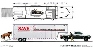 custom floorplans equine ambulance save custom luxury trailers