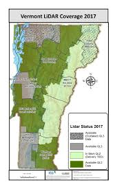 Map Program Vcgi Lidar Program Vermont Center For Geographic Information