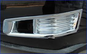 cadillac cts lights 2008 2013 cadillac cts c2c chrome abs fog light covers 2pc