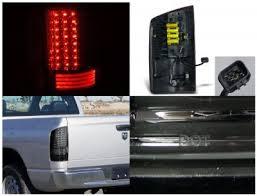 2003 dodge ram tail lights dodge ram 2500 2003 2005 smoked led tail lights a122kdhs109