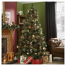 7ft christmas tree buy 7ft luxury christmas tree regency fir from our christmas