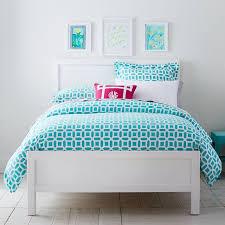 Pb Teen Bedrooms Sutton Classic Bed Pbteen