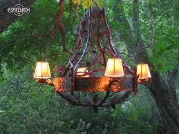 Forged Chandeliers Inspired Iron Chandeliers Bristlecone Chandelier