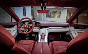 Porsche Panamera Red Interior - porsche panamera sport turismo interni glossy black interior