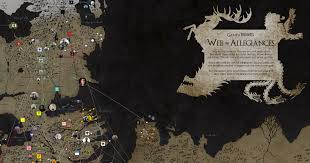 Got Map Game Of Thrones