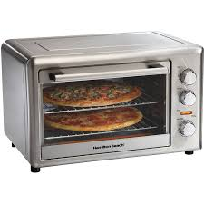 Oven Grill Toaster Hamilton Beach 6 Slice Convection Toaster Oven With Bake Pan