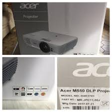 acer home theater projector acer m550 4k dlp projector for less than 2000 u20ac with frame