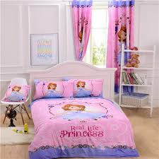 Princess Bedding Full Size Sofia The First Bedding Princess Bedding Cotton Bedroom Decoration
