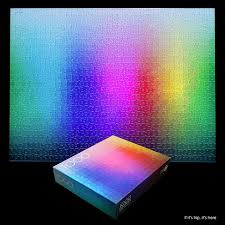cymk puzzle insanely difficult the 1000 colours puzzle by clement habicht lovers