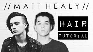 mens hair styles of 1975 matt healy of the 1975 hairstyle tutorial men s hair by