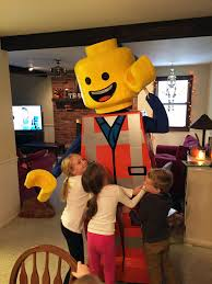 building an awesome emmet lego costume christian moist