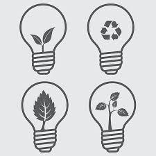 compact fluorescent light bulb clip art vector images
