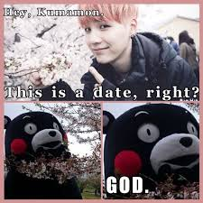 Kumamon Meme - awe suga and his kumamon suga 3 bts pinterest bts kpop and