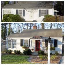 best curb appeal before and afters 2013 painted doors curb