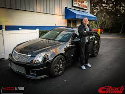 lowered cadillac cts cadillac cts v lowered on eibach springs before after