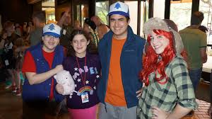 Mabel Dipper Halloween Costumes Dipper Mabel Cosplay 1 Flowerthorns Deviantart