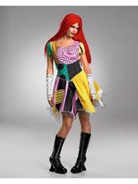 Womens Costumes Nightmare Before Christmas Sally Costume Movie Halloween Womens