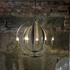 Forged Chandeliers Hubbardton Forge Modern Wrought Iron Light Fixtures At Lumens