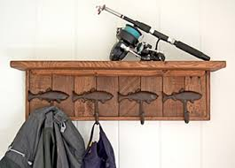alpine craft works fish hook coat racks