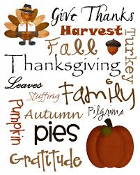 in my view topic thanksgiving traditions
